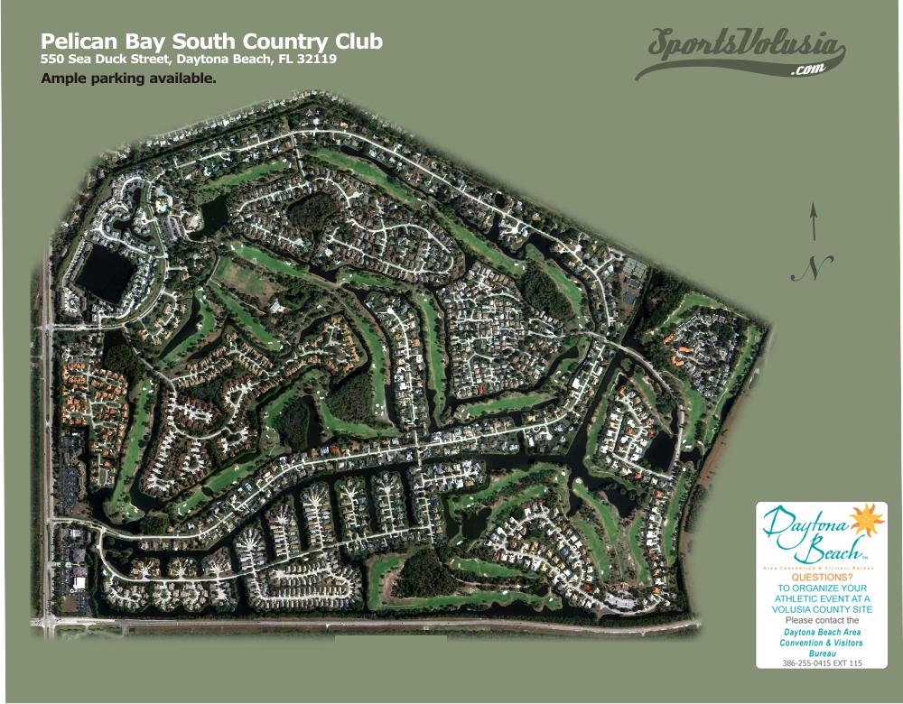 Pelican Bay South Golf Course Daytona Beach Florida
