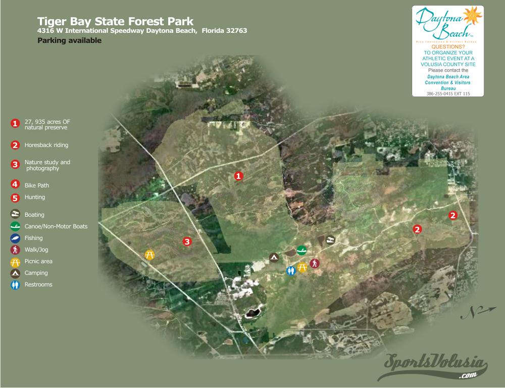 Tiger Bay State Forest Daytona Beach Fl