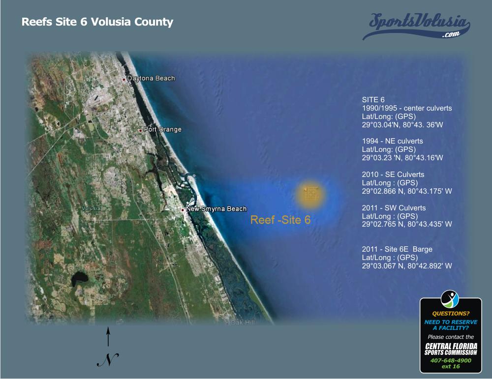 Florida Artificial Reefs Map.Reefs