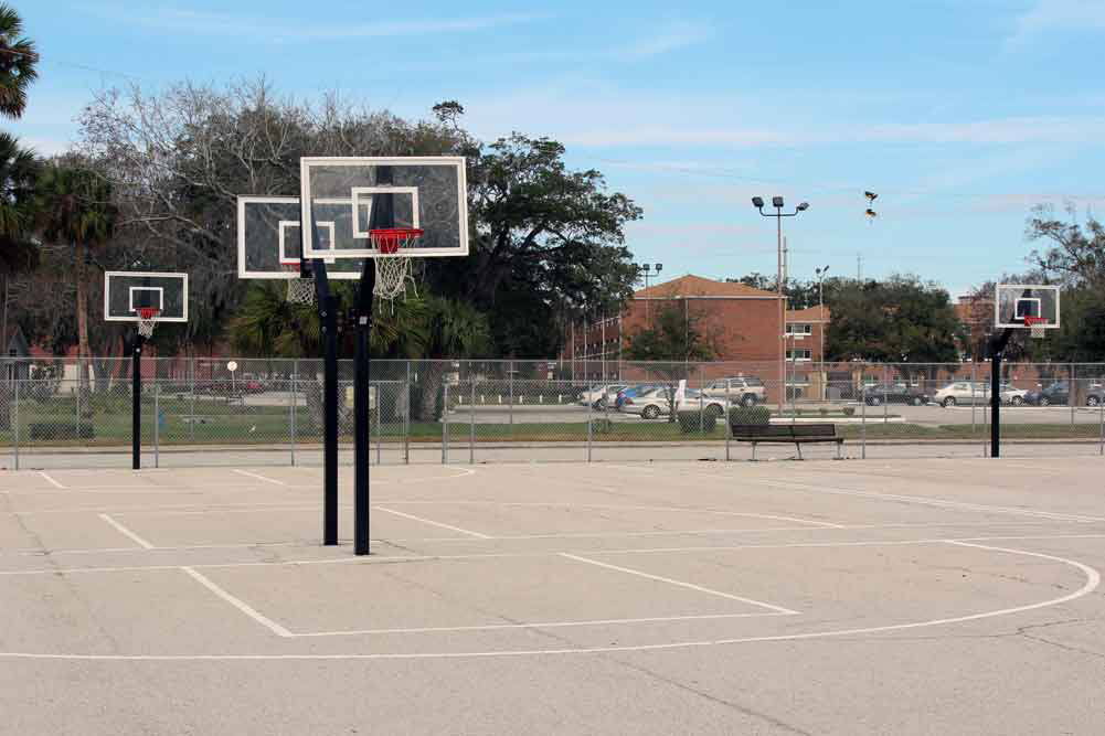 Joe Harris Is A Small Community Park Near Bethune Cookman University That Offers Four Lighted Basketball Courts Playground And Several Sheltered Picnic